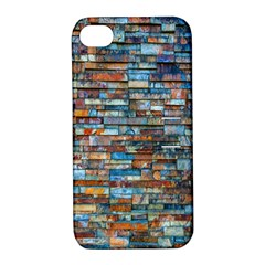 Colorful 21 Apple Iphone 4/4s Hardshell Case With Stand by ArtworkByPatrick