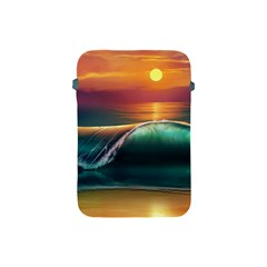 Art Sunset Beach Sea Waves Apple Ipad Mini Protective Soft Cases by Sapixe