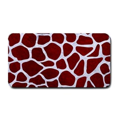 Skin1 White Marble & Red Grunge (r) Medium Bar Mats by trendistuff