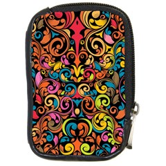 Art Traditional Pattern Compact Camera Cases by Sapixe