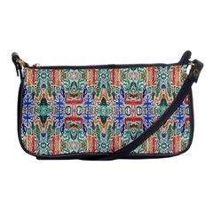 Colorful 23 Shoulder Clutch Bags by ArtworkByPatrick