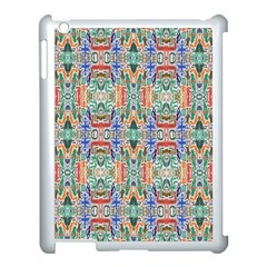 Colorful 23 Apple Ipad 3/4 Case (white) by ArtworkByPatrick