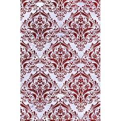 Damask1 White Marble & Red Grunge (r) 5 5  X 8 5  Notebooks by trendistuff