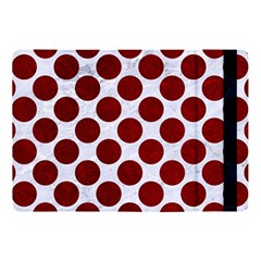Circles2 White Marble & Red Grunge (r) Apple Ipad Pro 10 5   Flip Case by trendistuff