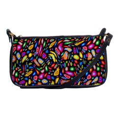 Artwork By Patrick Colorful 24 Shoulder Clutch Bags by ArtworkByPatrick