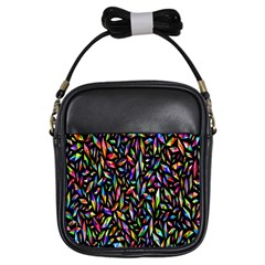 Colorful 25 Girls Sling Bags by ArtworkByPatrick