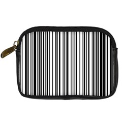 Barcode Pattern Digital Camera Cases by Sapixe