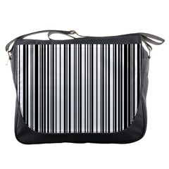 Barcode Pattern Messenger Bags by Sapixe