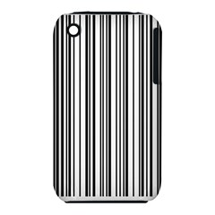 Barcode Pattern Iphone 3s/3gs by Sapixe
