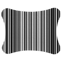 Barcode Pattern Jigsaw Puzzle Photo Stand (bow) by Sapixe