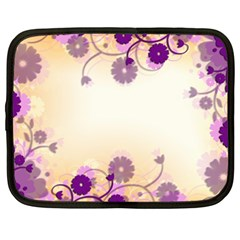 Background Floral Background Netbook Case (xxl)  by Sapixe