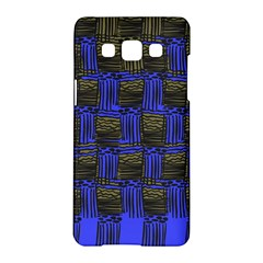 Basket Weave Samsung Galaxy A5 Hardshell Case  by Sapixe