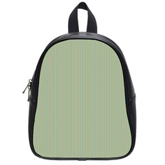 Background Pattern Green School Bag (small) by Sapixe