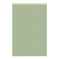 Background Pattern Green Shower Curtain 48  X 72  (small)  by Sapixe