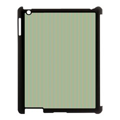 Background Pattern Green Apple Ipad 3/4 Case (black) by Sapixe