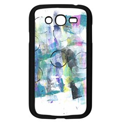 Background Color Circle Pattern Samsung Galaxy Grand Duos I9082 Case (black) by Sapixe