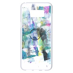 Background Color Circle Pattern Samsung Galaxy S8 Plus White Seamless Case by Sapixe