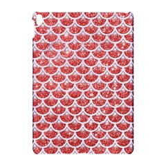 Scales3 White Marble & Red Glitter Apple Ipad Pro 10 5   Hardshell Case by trendistuff