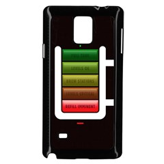 Black Energy Battery Life Samsung Galaxy Note 4 Case (black) by Sapixe