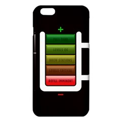 Black Energy Battery Life Iphone 6 Plus/6s Plus Tpu Case by Sapixe