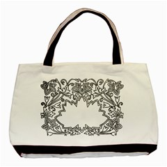 Bouquet Flower Decoration Pattern Basic Tote Bag (two Sides)