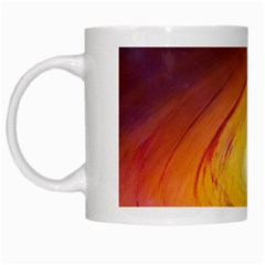 Black Hole White Mugs