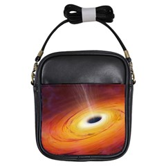 Black Hole Girls Sling Bags