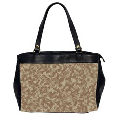 Camouflage Tarn Texture Pattern Office Handbags (2 Sides)  by Sapixe