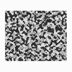 Camouflage Tarn Texture Pattern Small Glasses Cloth by Sapixe
