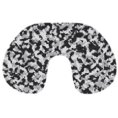 Camouflage Tarn Texture Pattern Travel Neck Pillows by Sapixe