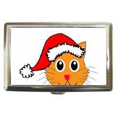 Cat Christmas Cartoon Clip Art Cigarette Money Cases