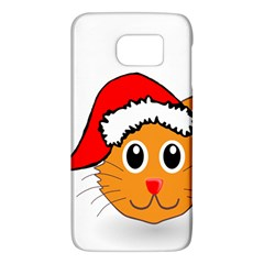 Cat Christmas Cartoon Clip Art Galaxy S6 by Sapixe