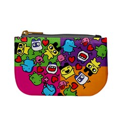 Cartoon Pattern Mini Coin Purses by Sapixe