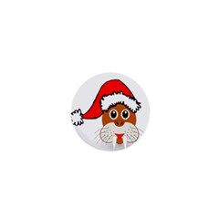 Child Of Artemis Christmas Animal Clipart 1  Mini Buttons by Sapixe