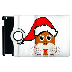 Child Of Artemis Christmas Animal Clipart Apple Ipad 3/4 Flip 360 Case by Sapixe