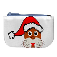 Child Of Artemis Christmas Animal Clipart Large Coin Purse