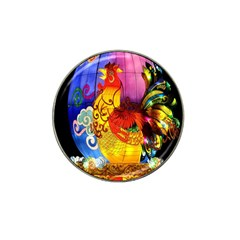 Chinese Zodiac Signs Hat Clip Ball Marker (4 Pack)