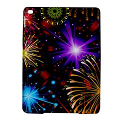 Celebration Fireworks In Red Blue Yellow And Green Color Ipad Air 2 Hardshell Cases by Sapixe