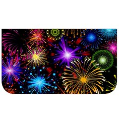 Celebration Fireworks In Red Blue Yellow And Green Color Lunch Bag