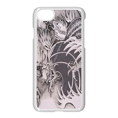 Chinese Dragon Tattoo Apple Iphone 7 Seamless Case (white) by Sapixe