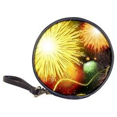 Celebration Colorful Fireworks Beautiful Classic 20 Cd Wallets by Sapixe