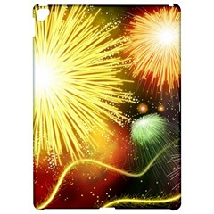 Celebration Colorful Fireworks Beautiful Apple Ipad Pro 12 9   Hardshell Case