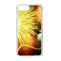 Celebration Colorful Fireworks Beautiful Apple Iphone 8 Plus Seamless Case (white)