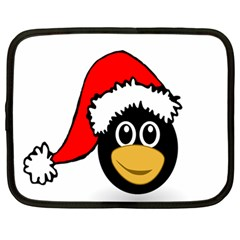 Christmas Animal Clip Art Netbook Case (large) by Sapixe
