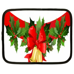Christmas Clip Art Banners Clipart Best Netbook Case (xxl)  by Sapixe