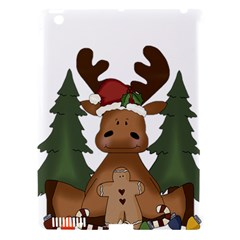 Christmas Moose Apple Ipad 3/4 Hardshell Case (compatible With Smart Cover)