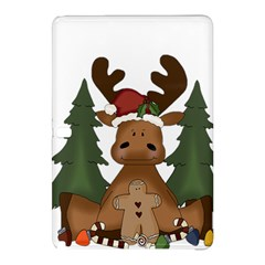 Christmas Moose Samsung Galaxy Tab Pro 12 2 Hardshell Case by Sapixe