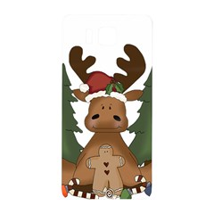 Christmas Moose Samsung Galaxy Alpha Hardshell Back Case