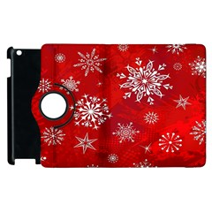 Christmas Pattern Apple Ipad 2 Flip 360 Case by Sapixe