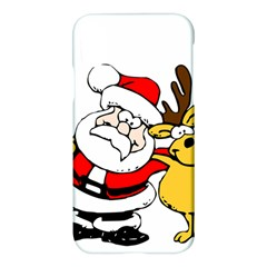 Christmas Santa Claus Apple Iphone X Hardshell Case
